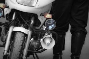 police biker