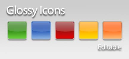 glossy-icons