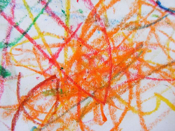 pastel scribble 2