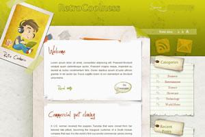 CoolRetro WordPress Theme