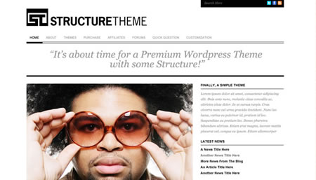 structure theme