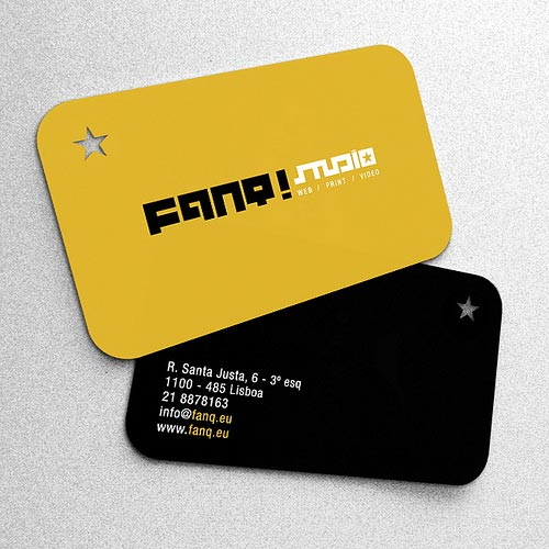 FANQ! business card by | digs |.