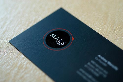 Mars Made Business Card Design by slimkiwi.