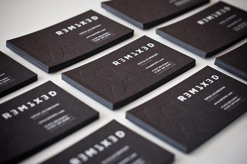 New Business Cards by Simon Jacobsohn.