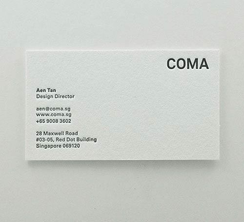 20 original and quirky business card designs artfans design 9 aen tan colourmoves Gallery