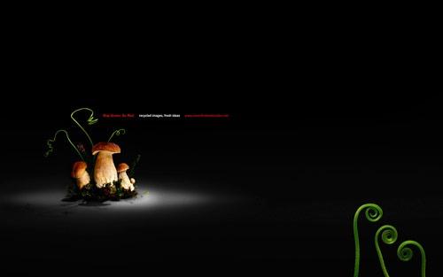 Green_blackdesktop
