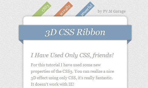 3d-ribbons-only-using-css3