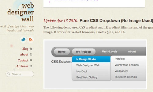 css3-dropdown-menu