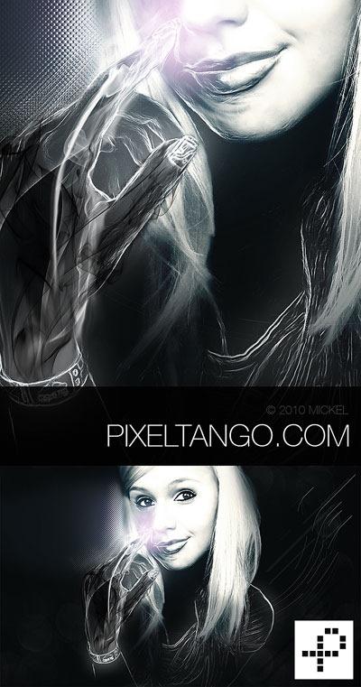 a-Futuristic-Portrait-Poster-in-Photoshop