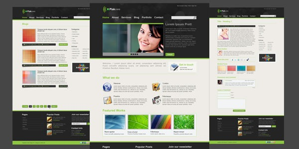 975 Free Website Templates  TemplatesBoxcom