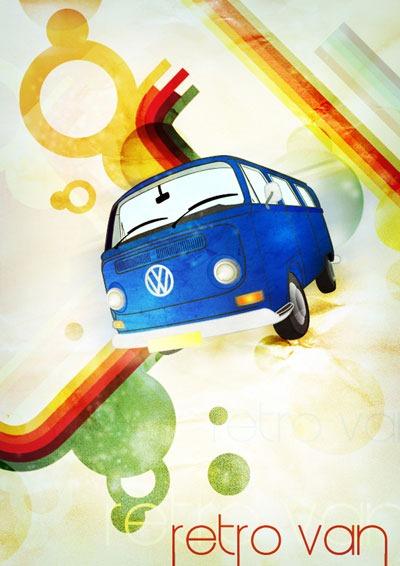 retro-hippy-van-poster