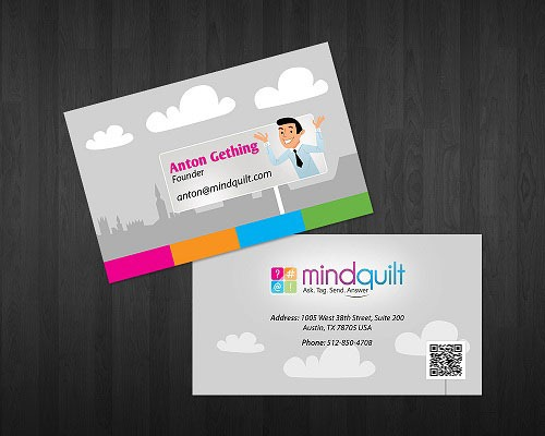 21 cartoon business cards that are too cute for words artfans design cute cartoon business card 11 colourmoves Image collections