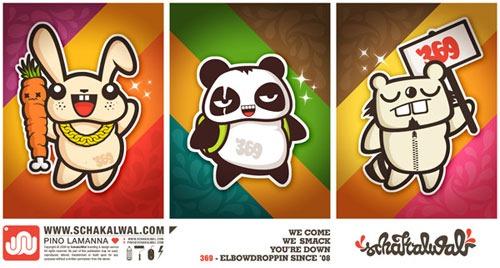 elbowdroppin-sticker-design
