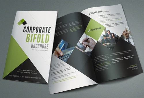 Free modern and professional brochure design templates for Free business brochures templates