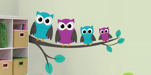 Owls-on-a-branch