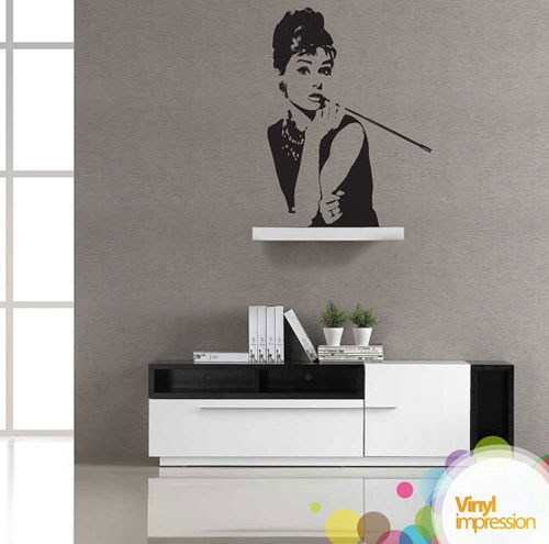 audrey-hepburn-vinyl-wall-sticker