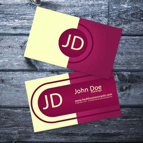 30 free business card templates to download artfans design elegant business cards reheart Gallery
