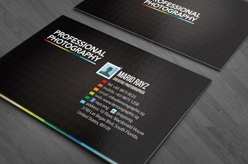 37 inspirational designs of photography business cards artfans design proffesional photography colourmoves