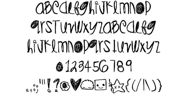 DiamondsPearls-font