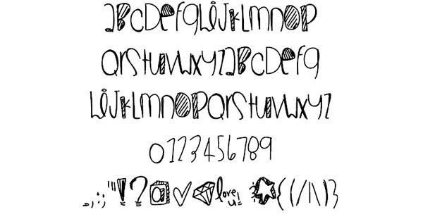 Superwoman-font