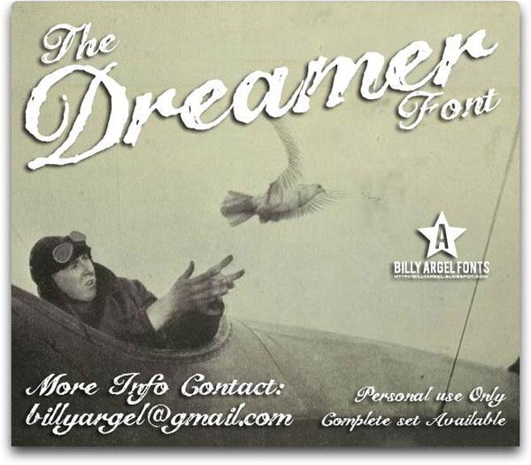 The-Dreamer-font