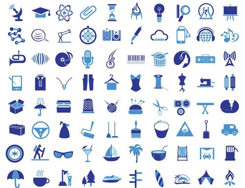 200-vector-icons
