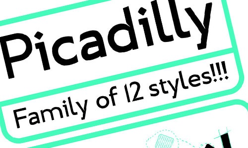picadilly-fonts