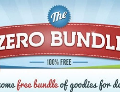 Zero Bundle: The Only Free Bundle of Design Goodies