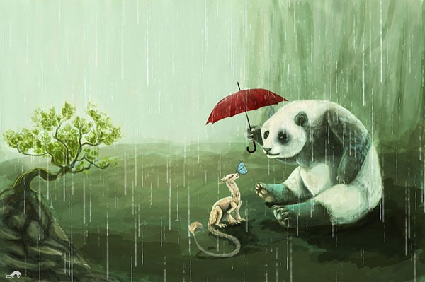 panda__umbrella_and_dragon_by_cottondragon-d3gp336