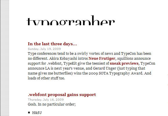 typographer